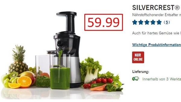Silvercrest Slow Juicer Ssj 150 A1 : Lidl, ???? - ????? 9.99, ?????? ??????? 9.99, ??????? ?????? ?????? 19.99 ?????????? ??????? ? ...