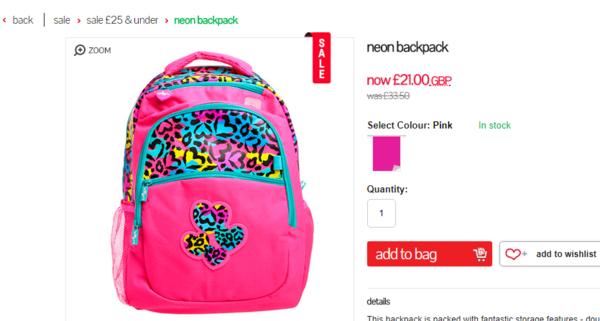 41cf84f2eae4 Качественные школьные рюкзаки и школьные принадлежности скидки до 50% в  SALE и -15% от черной цены